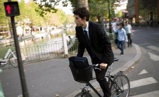 """Pendant la """"semaine de la mobilité"""", qui nous invite à partir de lundi à """"repenser (nos) déplacements domicile-travail"""", les cyclistes connectés vont pouvoir se mesurer dans une """"course virtuelle"""" dans le cadre d'un concours pour promouvoir le vélo."""