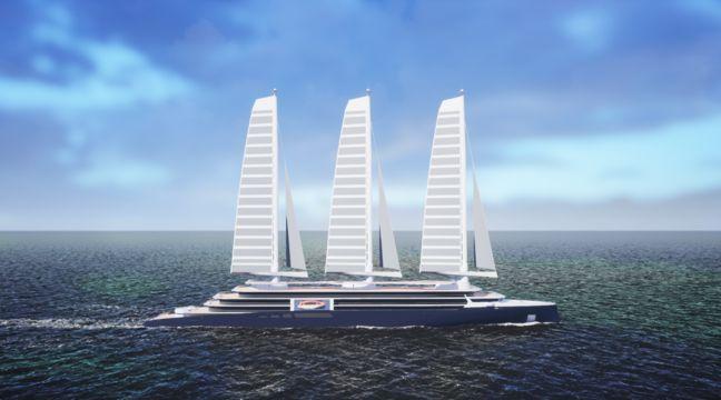 Chantiers de l'Atlantique : Bientôt un immense prototype de voile pour équiper les paquebots - 20 Minutes