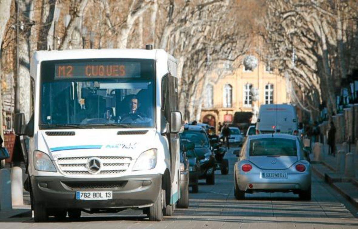 La ville d'Aix-en-Provence accumule la pollution de Marseille et celle des industries de Berre. –  P.MAGNIEN / 20 MINUTES