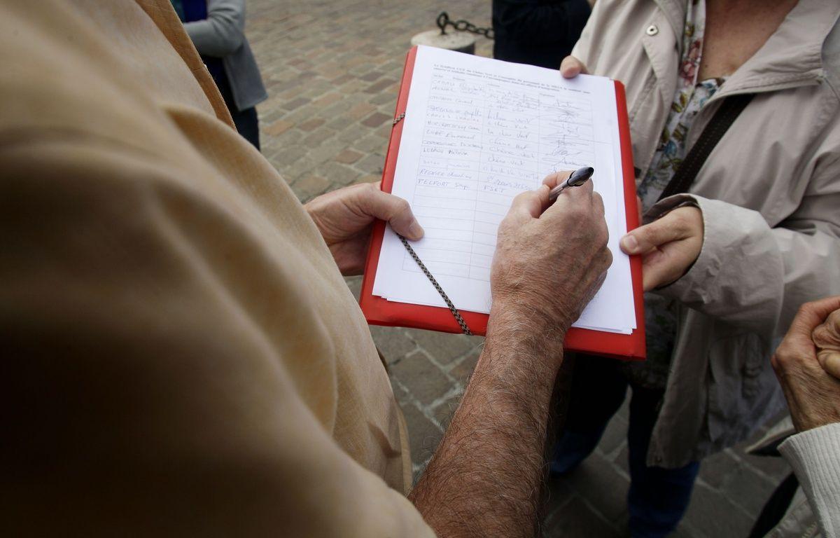 Signature pétition (Illustration) – Frédéric Scheiber/20MINUTES