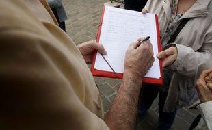 Signature pétition (Illustration)