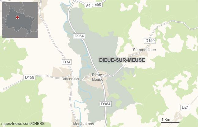 La commune de Dieue-sur-Meuse, dans la Meuse.