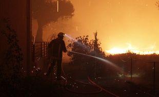 Un incendie ravage la Haute-Corse (illustration)