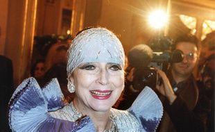 Valentina Cortese, ici en 2001, a côtoyé les plus grands.