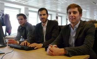 Thibault, Thomas et Olivier, à la rédaction de 20 Minutes