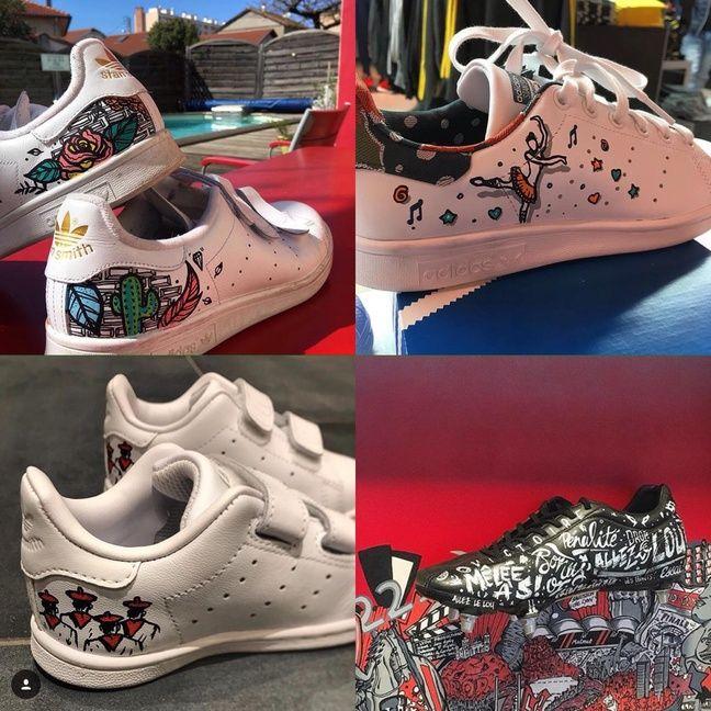 25396cefce4 Lyon   Ils relookent vos chaussures pour en faire des modèles uniques
