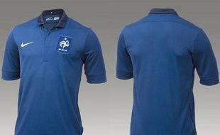 Le maillot Nike de l'équipe France de football.