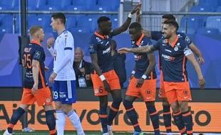 Montpellier peut célébrer sa troisième victoire consécutive. Il a livré l'un des matchs les plus spectaculaires de la saison contre Strasbourg (4-3).