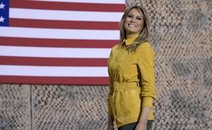 Melania Trump est la première dame des Etats-Unis.
