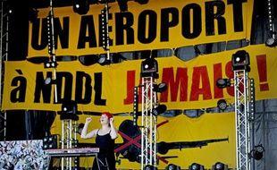 Le 3 août 2013, des concerts étaient organisés par les opposants au projet d'aéroport à Notre-Dame-des-Landes.