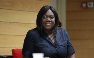 Laetitia Avia, élue dans la 8eme circonscription de Paris, le 7 juin 2017.