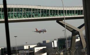 L'aéroport de Gatwick, le 19 novembre 2008