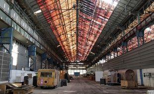 L'ancienne usine Fives Cail, à Lille.