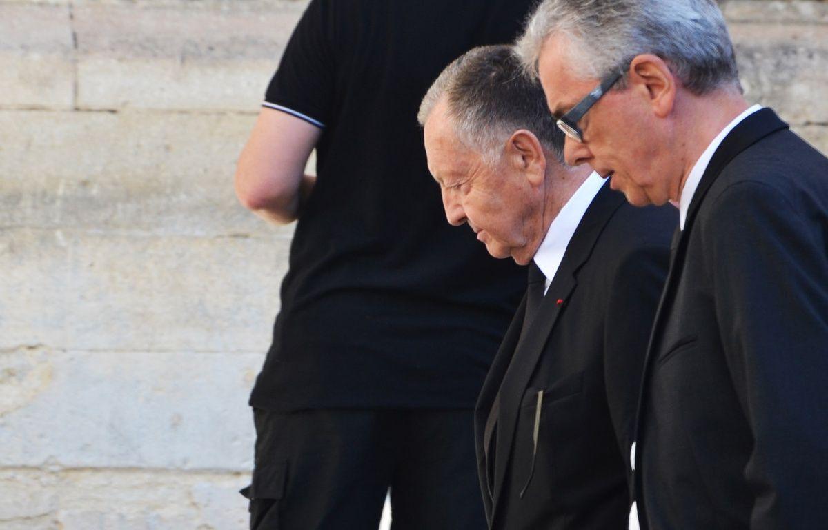 Jean-Michel Aulas, aux obsèques de Louis Nicollin. – N. Bonzom / Maxele Presse