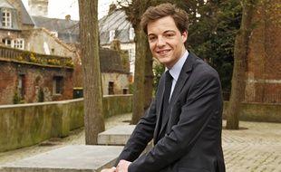Stéphane Cieczkowski-Samier, un des plus jeunes maires de France.