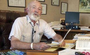 Le juge G. Todd Baugh, dans son bureau du Montana.