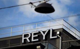 Façade en date du 15 juin 2013 de la banque Reyl à Genève