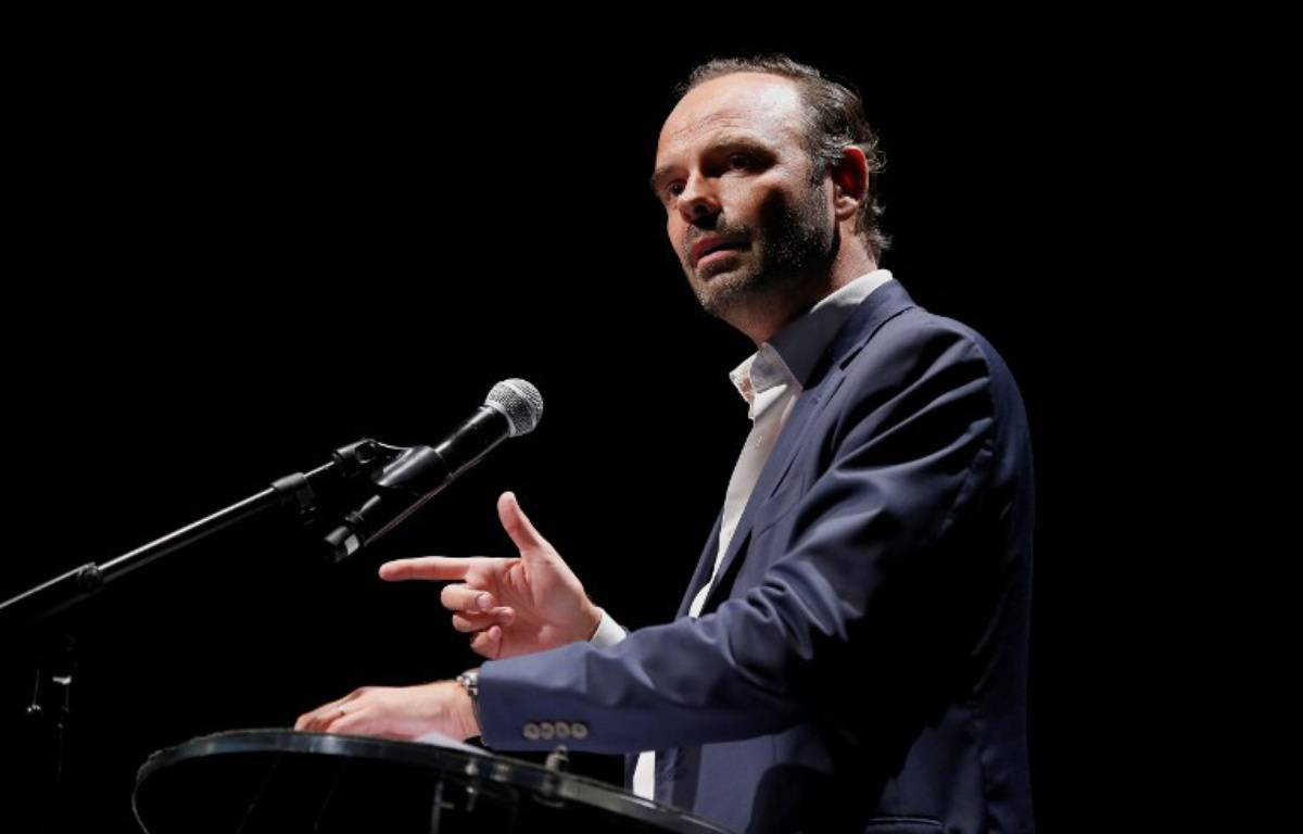 Edouard Philippe, le maire du Havre – CHARLY TRIBALLEAU / AFP