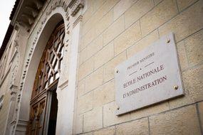 L'entrée de l'Ecole nationale d'administration (ENA), à Paris le 12 février 2020.