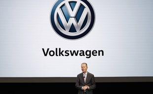 L'actuel PDG du constructeur automobile allemand, Herbert Diess.
