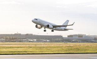 Un ACJ319neo d'Airbus lors d'un vol d'essai le 26 avril 2019 a établi un record d'endurance.