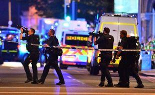 Trois incidents ont été signalés dans le centre de Londres, le 3 juin 2017.