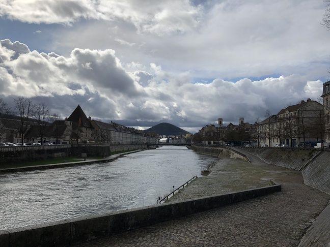 La ville de Besançon, en février 2020.