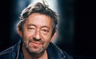 Serge Gainsbourg sur le plateau de l'émission « Zenith » en 1988.