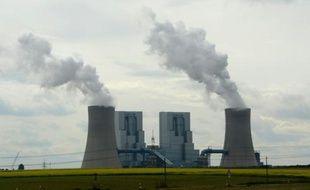 La centrale à charbon de RWE à Grevenbroich, dans l'ouest de l'Allemagne, le 11 septembre 2012