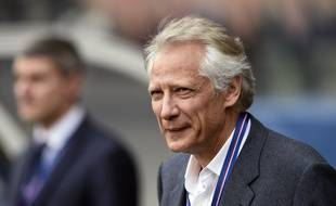 Dominique de Villepin, le 23 avril 2014 à Paris.