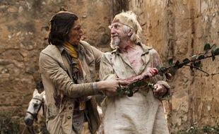 Adam Driver et Jonathan Pryce dans «L'homme qui tua Don Quichotte» de Terry Gilliam.