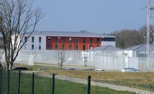 e centre de rétention administrative de Saint-Jacques-de-la-Lande, près de Rennes en 2012