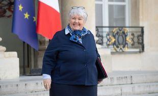 La ministre de la Cohésion des territoires, Jacqueline Gourault.