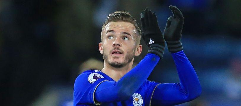 James Maddison, joueur de Leicester
