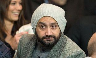 Cyril Hanouna, le 6 octobre 2014, au Parc des Princes, à Paris.