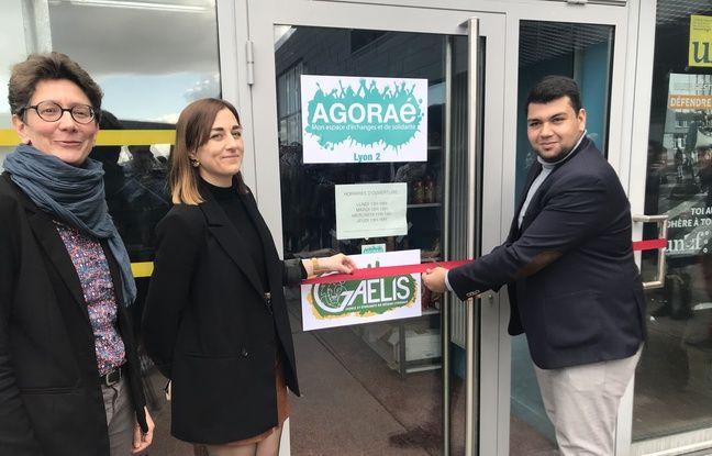 Lyon: Face à la précarité étudiante, AGORAé, une épicerie solidaire et sociale s'installe à l'université Lyon 2