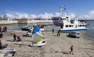 Embarcadère de l'île d'Aix.