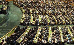 L'assemblée générale de l'ONU à New York, en septembre 2009