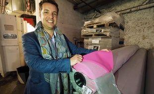 Albin Lewi, le directeur artistique, dans les coulisses du Palais des festivals
