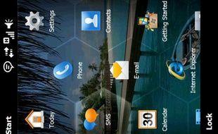 L'interface du futur Windows Mobile 6.5