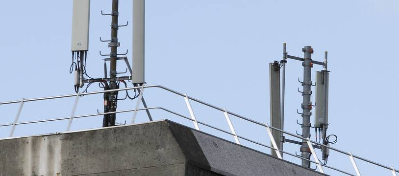 Des antennes relais de téléphonie mobile à Lille (illustration).