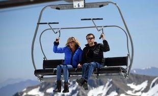 Le 12 avril 2017, Emmanuel Macron et son épouse Brigitte avaient passé quelques jours à la Mongie, dans les Hautes-Pyrénées.