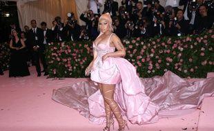 La chanteuse Nicki Minaj au Met Gala 2019