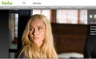 Hulu, la plateforme vidéo de NBC et Fox propose des centaines de séries, films et clips