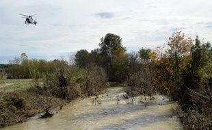 Inondations dans le Gard le 15 novembre 2014.
