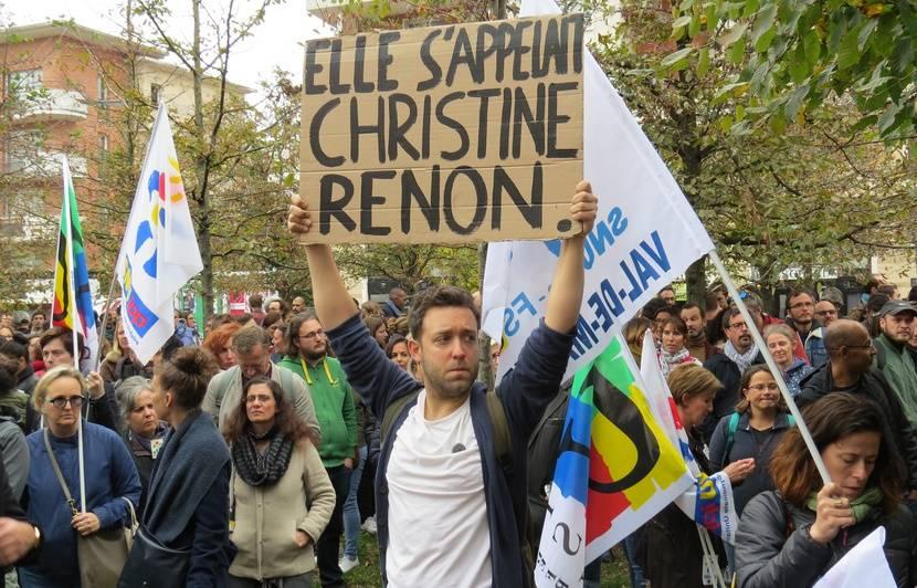 Suicide d'une directrice d'école : « Ce qu'a vécu Christine, on le vit  quotidiennement », des milliers de personnes rendent hommage à Christine  Renon