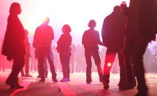 Illustration d'une soirée à Rennes, ici en marge des Trans Musicales.