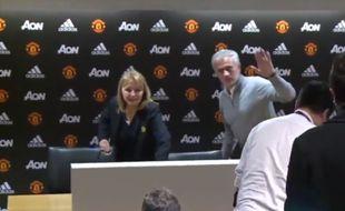 Mourinho en conférence de presse