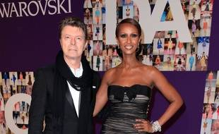 David et Iman Bowie aux CFDA Fashion Awards, en 2010.