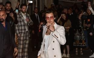 Le chanteur et acteur Harry Styles à Rome